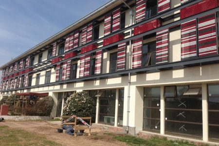 Escuela de sub oficiales de ejército. Msipu. Constructora MK
